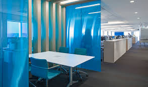 creative office partitions. Directional Transparency And Views; Views With Aluminum Hexagonal Honeycomb Core Blue Transparent Facings Creative Office Partitions L