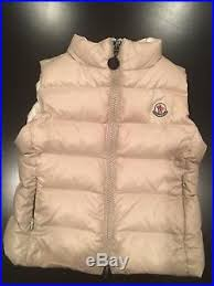 Moncler Baby Toddler kids Boy Girl Puffer Vest Sz 18-24 months EUC