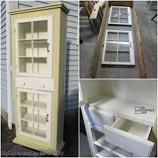 Repurposing Repurposed Window Cabinet