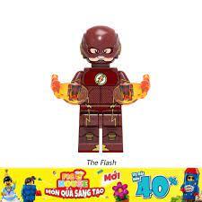Minifigures Siêu Anh Hùng The Flash X411 - Đồ Chơi Lắp Ráp [A1]