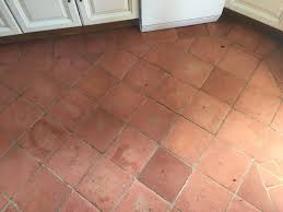 Terracotta Kitchen Floor Restoring The Appearance Of A Terracotta Kitchen Tiles Stone
