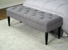 Contemporary Bedroom Benches With Storage Uk Modern Bench White ...