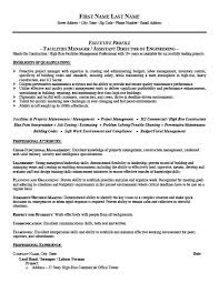 ... Facility Manager Resume 12 ...