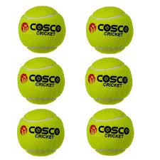 Cosco Light Weight Cricket Ball Cosco Light Weight Cricket Tennis Ball Set Of 6 Pc Amazon