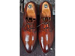 TucciPolo <b>Mens Oxford</b> Natural Handmade Classic Brown <b>Luxury</b> ...