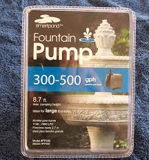 Fountain Pump Size Chart What Size Pump Do I Need For My Hydroponic System