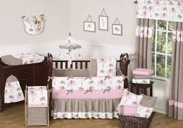 attractive image of baby girl nursery room with unique baby girl crib bedding set astounding
