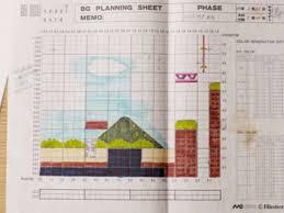 See Original Graph Paper Sketches That Became Super Mario Bros