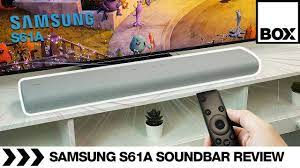 Samsung HW-S61A All-In-One SoundBar Review - YouTube