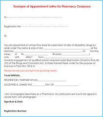 15 Appointment Letter Format The Principled Society