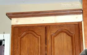 installing crown molding on kitchen cabinets kitchen how to add crown molding to kitchen cabinets just
