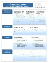 New Cv Templates Resume Format Free Download Word Document Bahasa