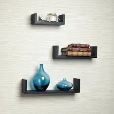 Floating Shelves Mitre 10 Stunning Floating U Shelves Shop Floating U Laminated Black Shelves Set Of 32