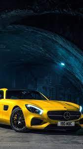 2015 Mercedes-Benz AMG GTS yellow car ...