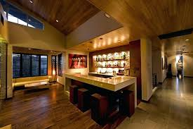 basement bar lighting ideas. Basement Bar Lighting Ideas Home Contemporary With Windows Industrial Stools And Counter Tile Floor Design Decorating N