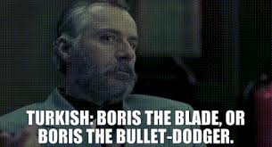 YARN | TURKISH: Boris The Blade, or Boris The Bullet-Dodger. | Snatch  (2001) | Video gifs by quotes | cc47e463 | 紗