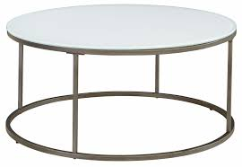 Industrial Round Coffee Table Round Industrial Gear Coffee Table With Glass Top For Sale At