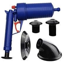 Toilet Pumper Zerich Air Power Drain Blaster High Pressure Powerful