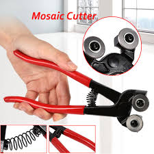 diy mosaic glass tile cut nippers ceramic tools cutting sharping craft