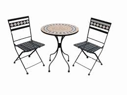 perky small mosaic patio table images tiles home decoration newest round wooden garden exterior rhomb pattern