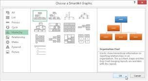 How To Use Smartart In Excel 2016 Dummies