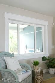 diy craftsman style window trim tutorial for newbies if you can cut a straight line