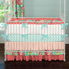 attractive image of baby girl nursery room with unique baby girl crib bedding set divine