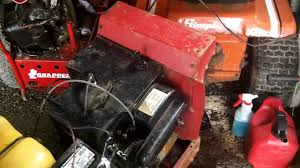we fixed the old pto on the snapper lt11 we fixed the old pto on the snapper lt11