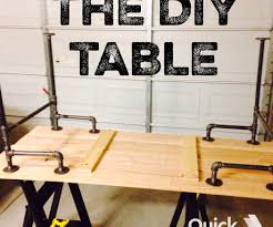 black iron pipe table 6 steps with pictures diy coffee table pipe legs