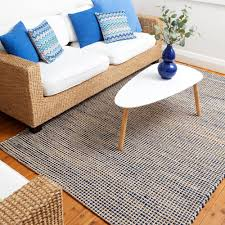 royal blue rug. Playa Natural IRIS Cotton Jute Royal Blue Rug F