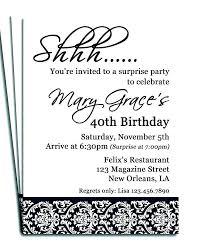 Free Surprise Party Invitation Templates Bahiacruiser
