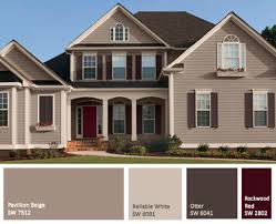 Popular Red Paint Colors Paint Color For Houses Exterior Best 25 Exterior House Colors