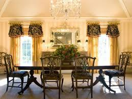 formal dining room window treatments. accessories \u0026 furniture,impressive living room window treatments with golden curtain and stunning crystal formal dining o
