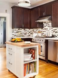 Small Long Kitchen Kitchen Kitchen In Open Space With Long White Slim Island With