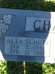 Alta Schutz Chaney (1931-1981) - Find A Grave Memorial