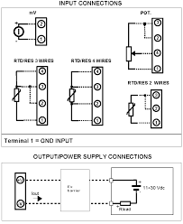 pt100 thermocouple wiring diagram wiring diagrams intrinsically safe rtd temperature transmitter dat1010is