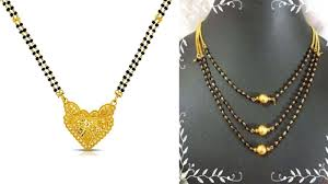Black Mangalsutra Design 9 Traditional Latest Black Beads Mangalsutra Designs