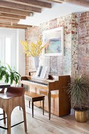 eclectic home office alison. A Jennison-Greenpoint Townhouse-10 Eclectic Home Office Alison E