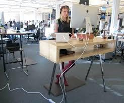 standing desk ikea standing desk hack ideas office space standing desks hacks and ikea bekant standing standing desk