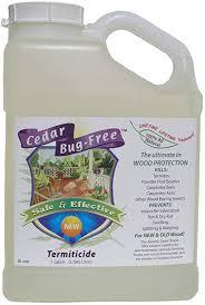 natural termite killer. Brilliant Natural Termite Control  Cedar BugFree Termiticide Natural Treatment  Spray With Killer T