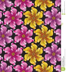 Textile Designs Pictures Seamless Flower Background For Textile Designs Stock Vector