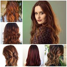 Beautiful Auburn Hair Color And Hairstyles