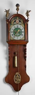 Antique Dutch Zaandam Zaanse Wall Clock