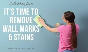 how to remove stains from your walls