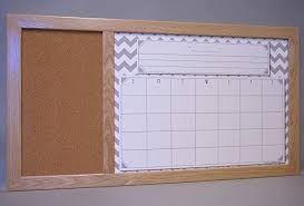 neoteric framed dry erase wall calendar com large board cork family command center organizer corkboard