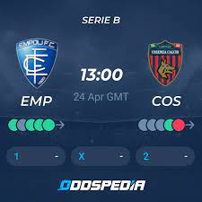 Empoli - Cosenza Calcio » Live Stream & Ticker + Quoten, Statistiken, News