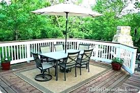 outdoor deck rugs mesmerizing for pool decks ideas carpet post poolside round new patio
