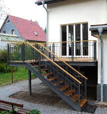 2,70 x 3,00 x 1,40 m, höhe: Terrasse Kw Stahlblau Terrassen Treppe Aussentreppe Treppe