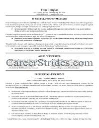 Project Management Resumes It Product Manager Resume Sample Within