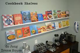 Cook Book Shelves